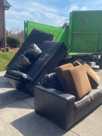 Hauling Furniture Near La Follette, TN - After Photo