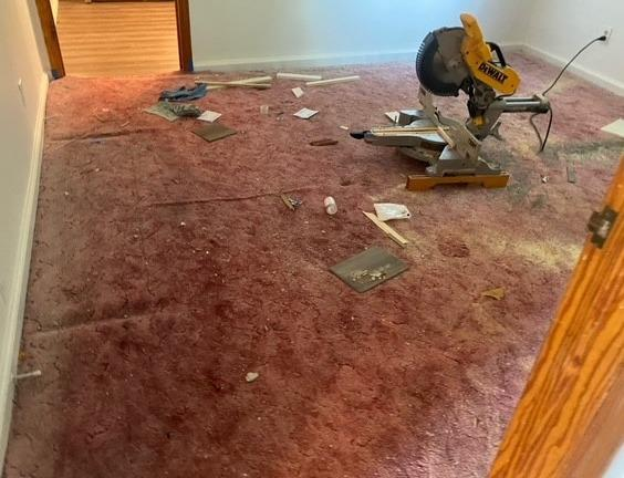 Carpet Removal in Knoxville, TN