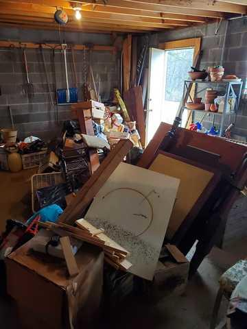 Basement Cleanout in Knoxville, TN