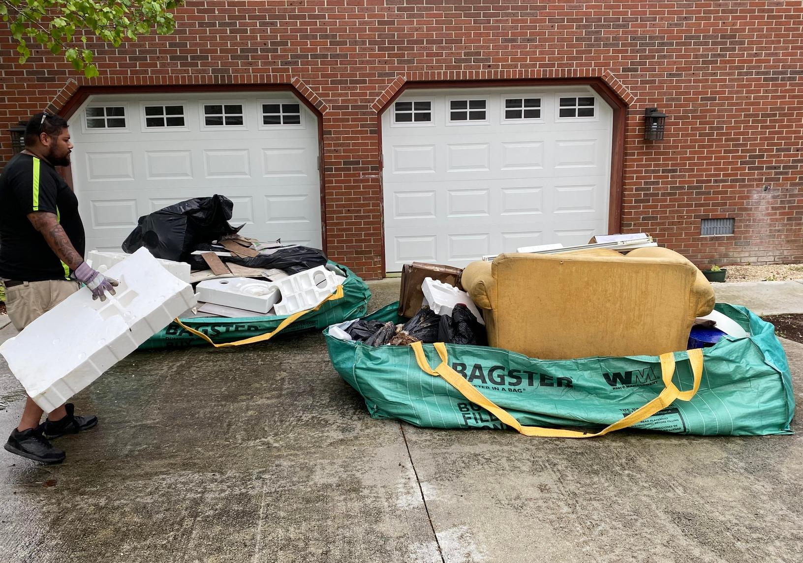 Construction Debris Removal in Wilmington, NC - Before Photo