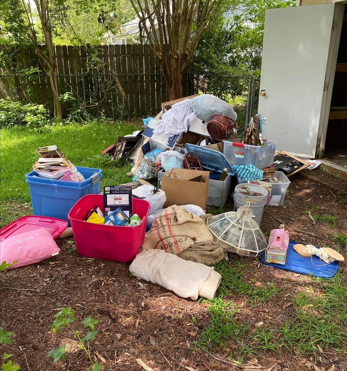 Junk Removal & Donation in Wilmington, NC - Before Photo