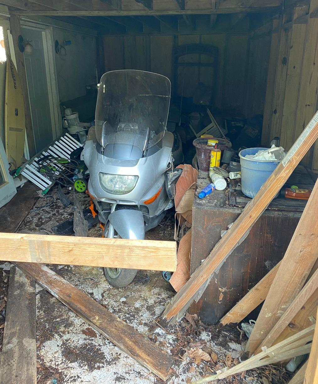 Garage Clean-out in Burgaw, NC - Before Photo