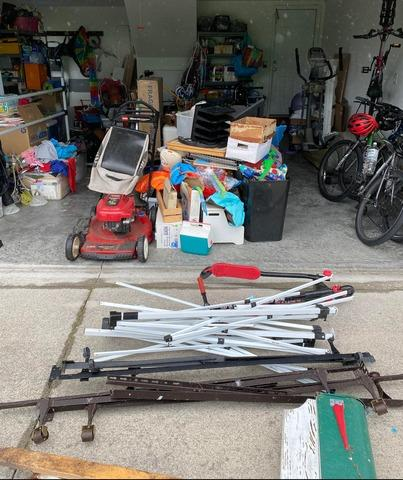 Partial Garage Cleanout in Wilmington, NC