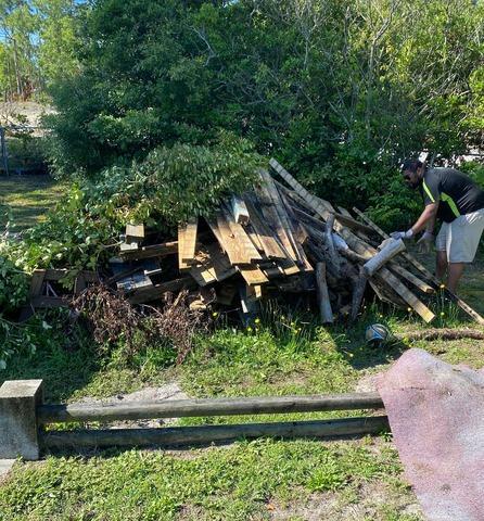 Yard/Construction Debris Removal in Wilmington, NC