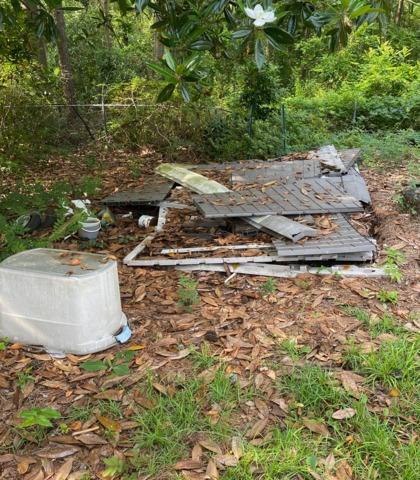 Shed Debris Removal Wilmington, NC