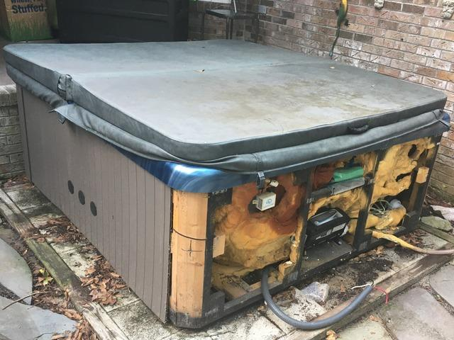Professional Hot Tub Removal in Wilmington, NC