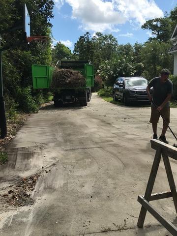 Yard Debris Removal in Wilmington, NC