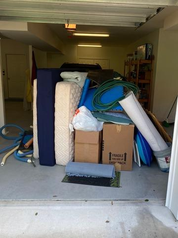 Garage Clean-Out in Wilmington, NC