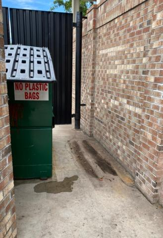 Dumpster Corral Clean-Up