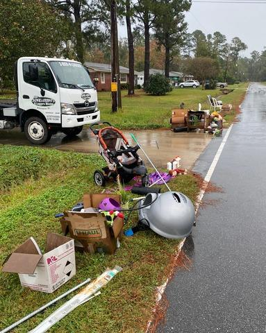 Curbside Junk Removal in Wilmington, NC