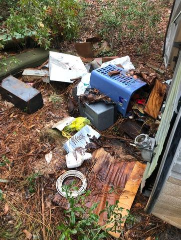 Travel Trailer Clean-Out in Wilmington, NC