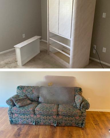 Furniture Removal in Plantation Village Retirement Wilmington, NC