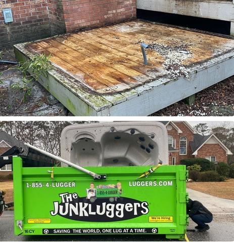 Hot Tub Removal in Wilmington, NC
