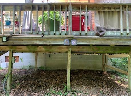 Under Porch Storage Clean Up in Williamsburg, VA - After Photo