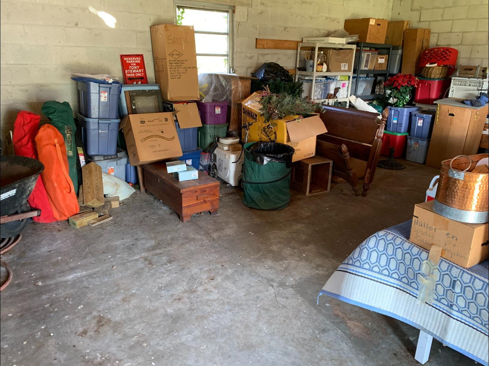 Garage Decluttering in Toano, VA - After Photo