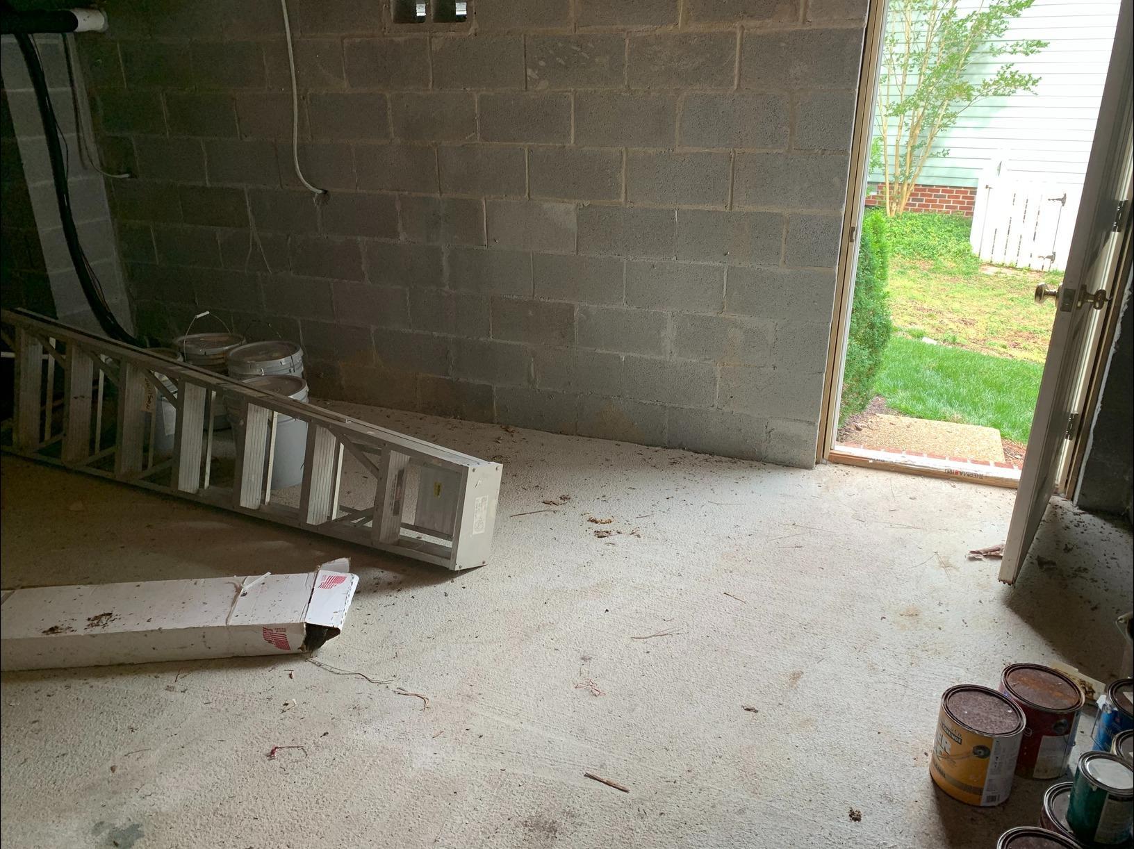 Basement Decluttering in Williamsburg, VA - After Photo