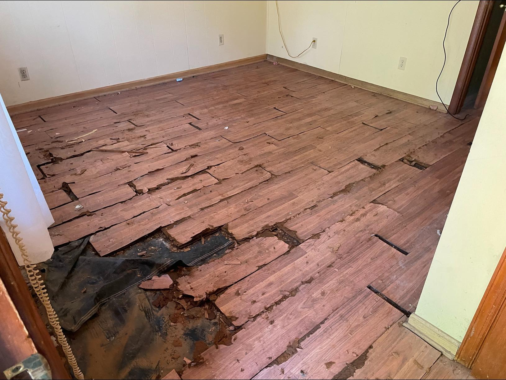 Water Damage Clean Up in Williamsburg, VA - After Photo