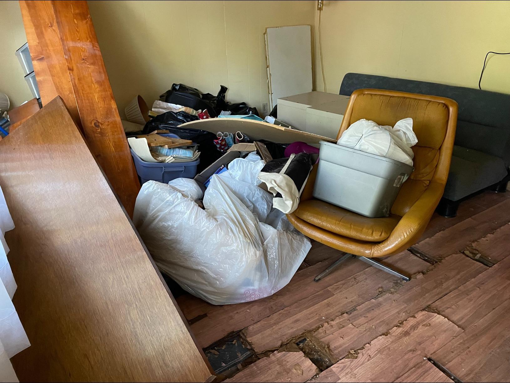 Water Damage Clean Up in Williamsburg, VA - Before Photo