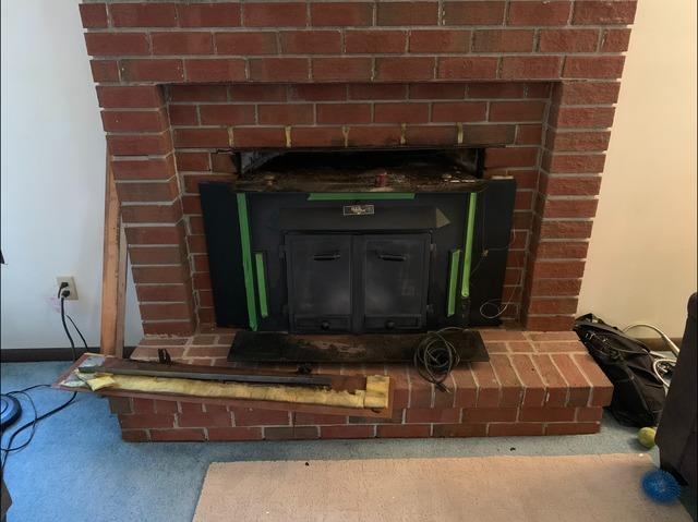 Wood Stove Removal in Yorktown, VA