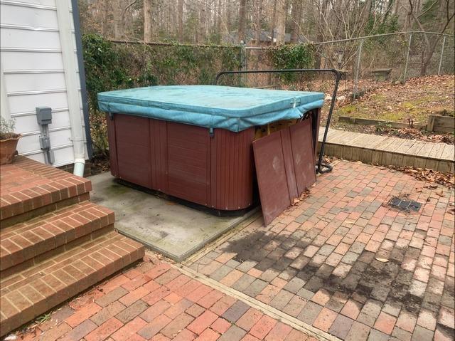 Hot Tub Removal in Williamsburg, VA