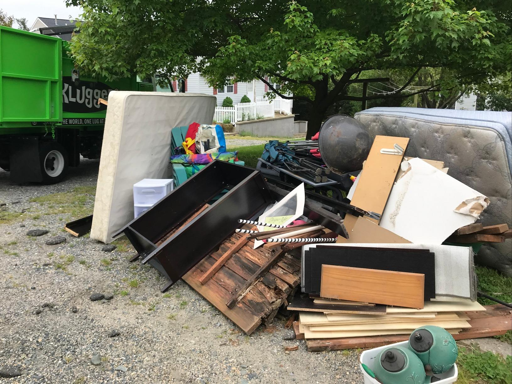 Junk Removal in Catonsville, MD - Before Photo