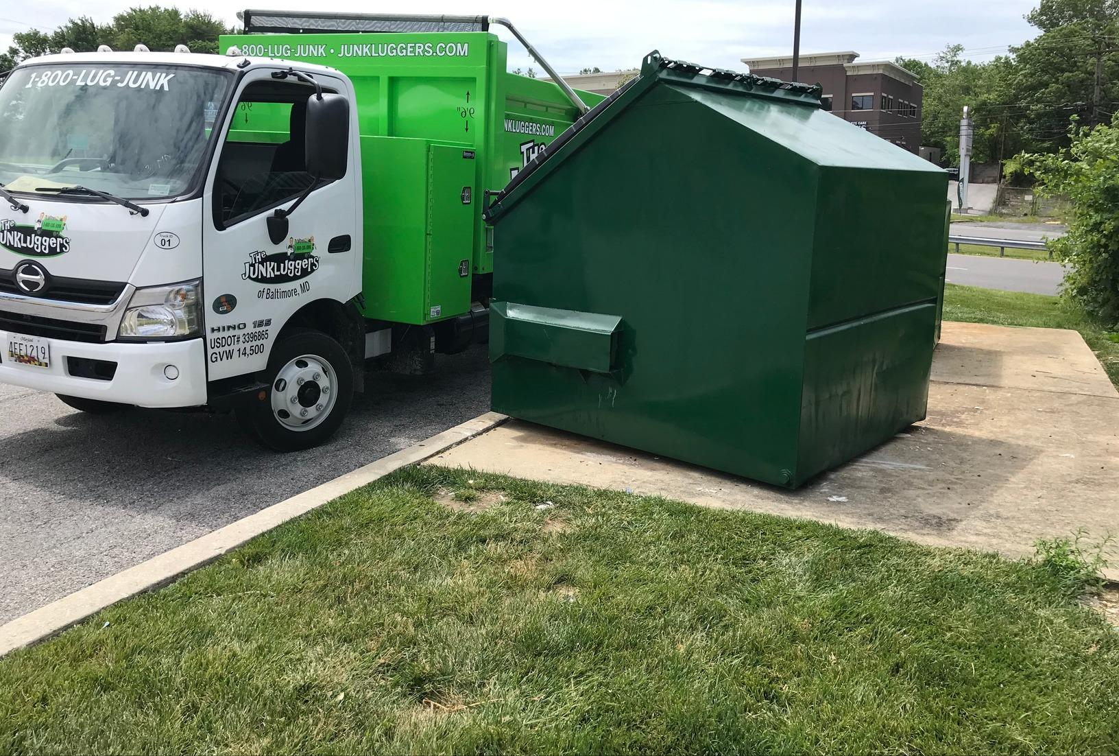 Bulk Trash Pickup in Catonsville, MD - After Photo