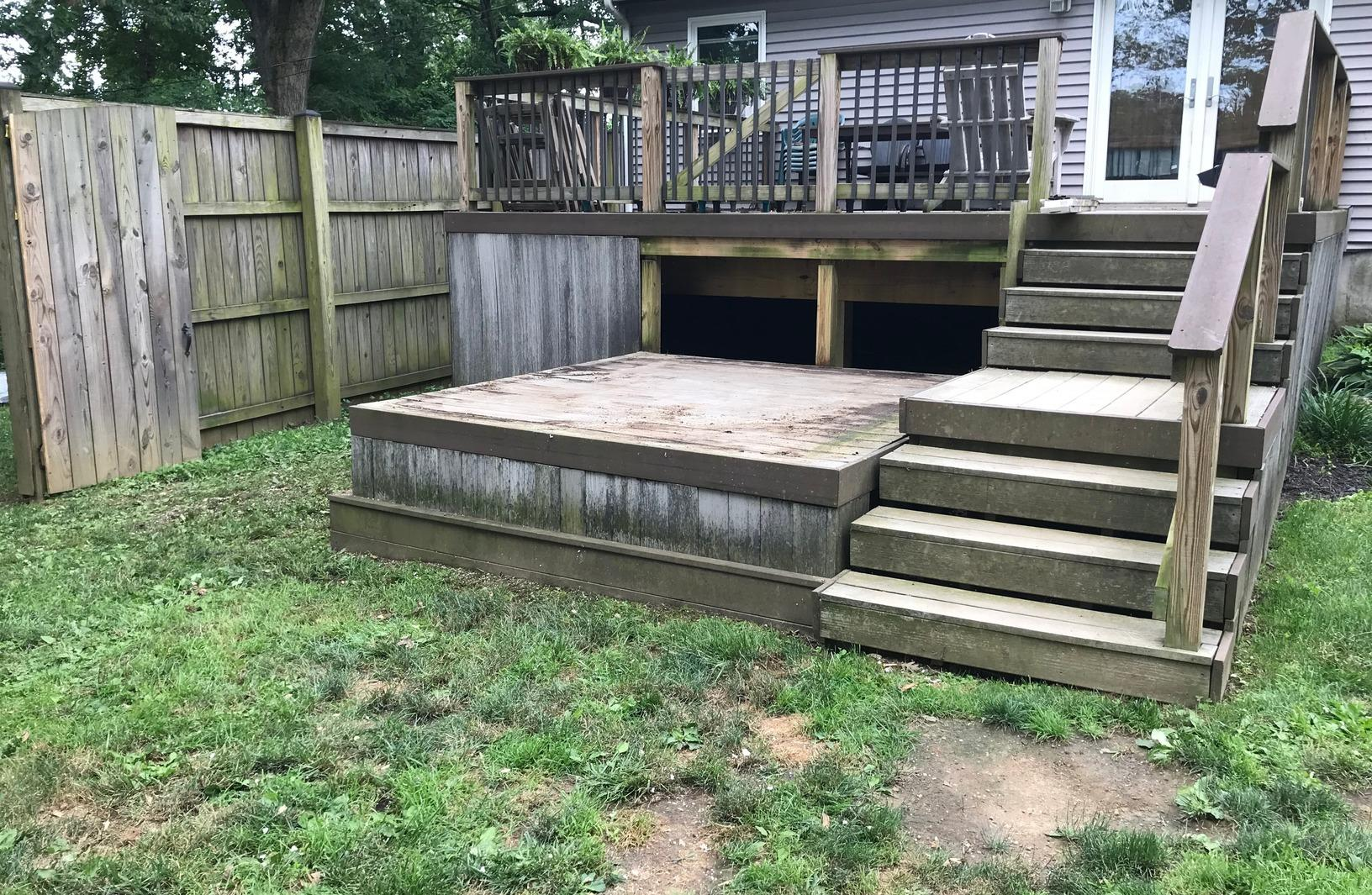 Hut Tub Removal in Catonsville, MD - After Photo
