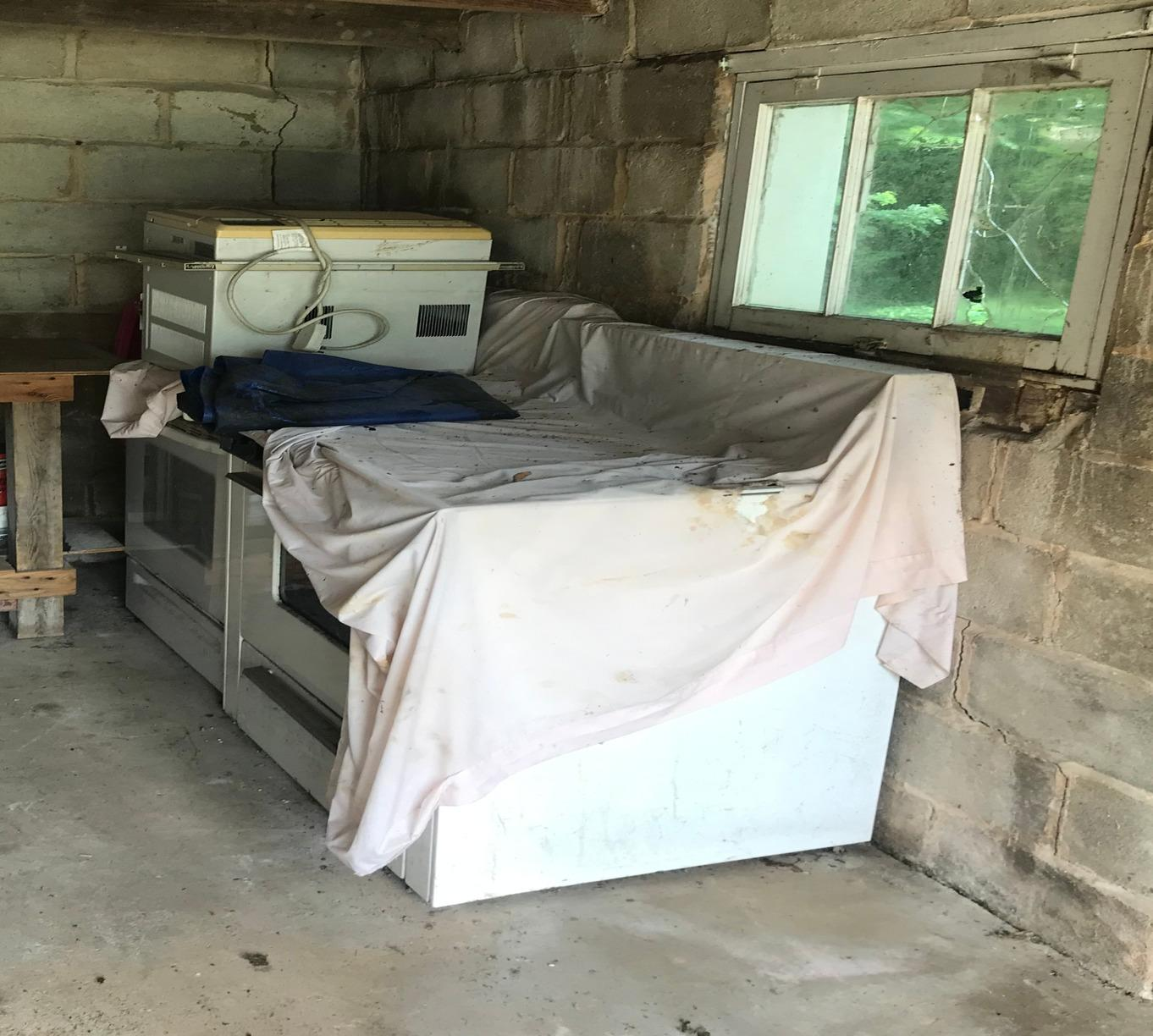 Appliance Removal in Catonsville, MD - Before Photo