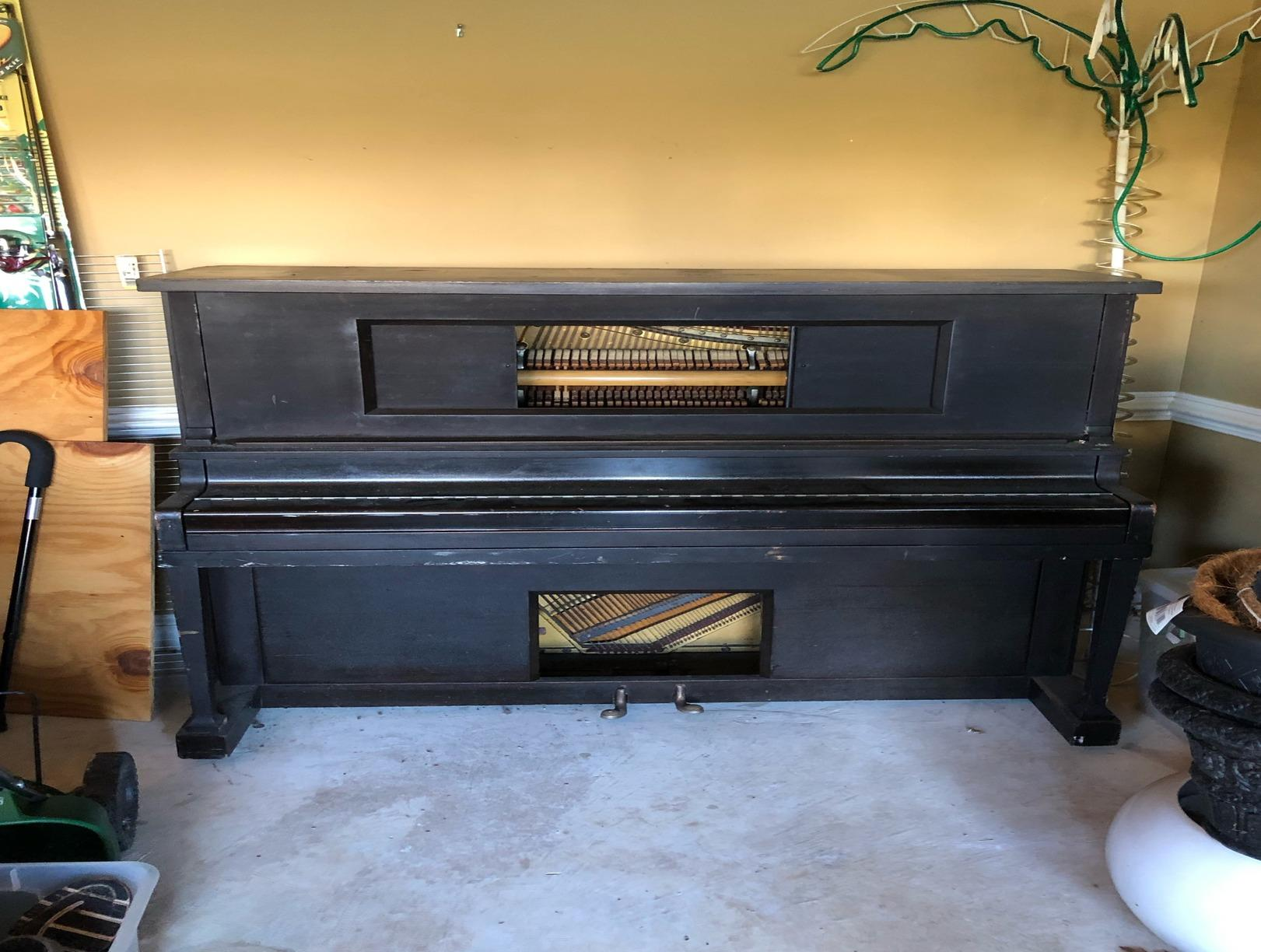 Piano removal Catonsville, MD - Before Photo