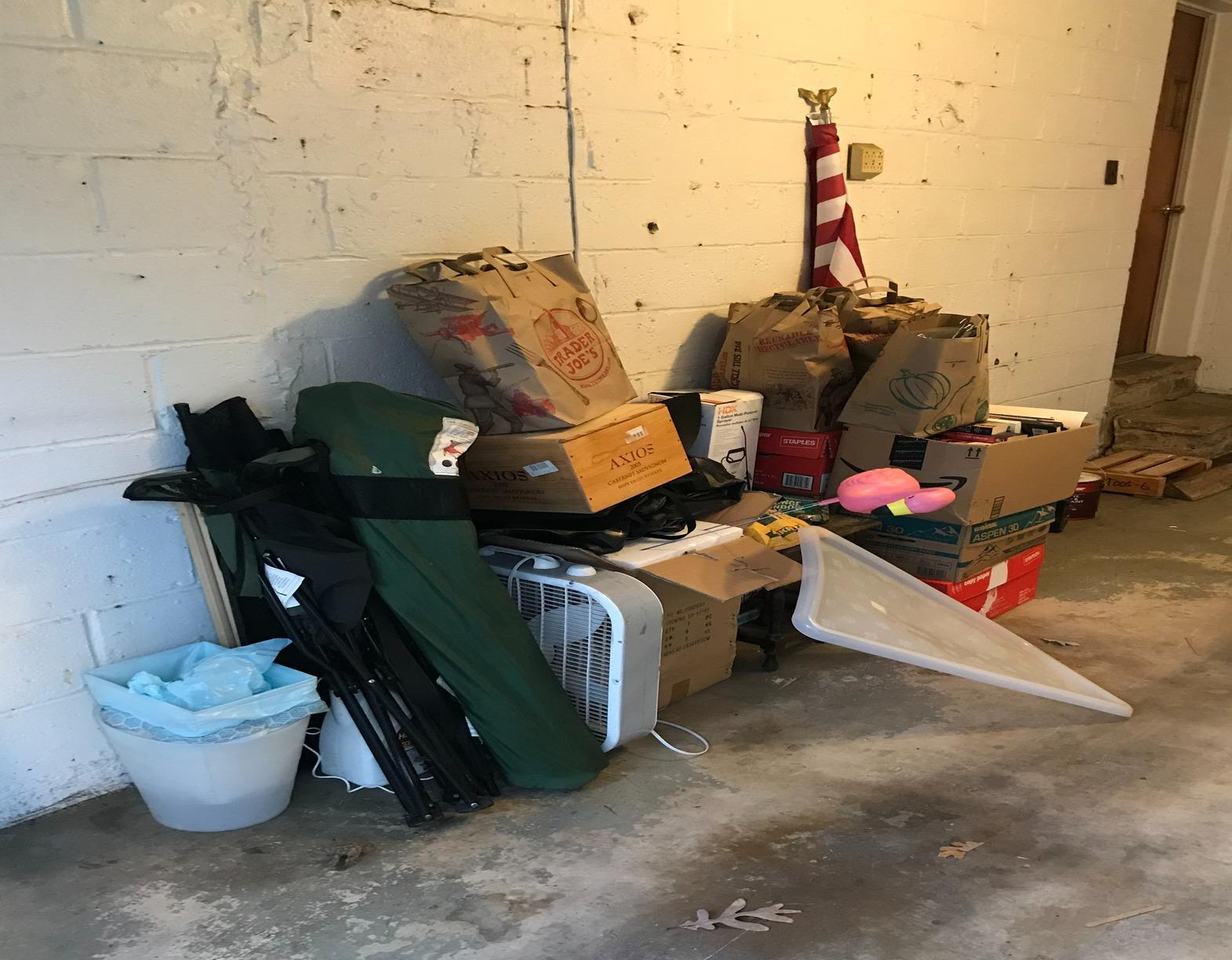 Junk removal, Annapolis Junction MD. - Before Photo