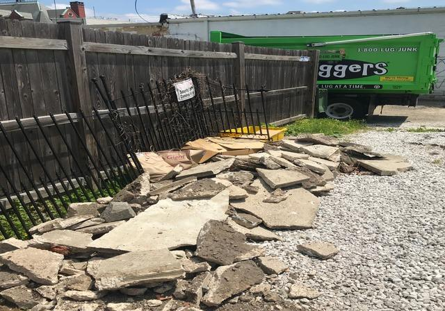 Concrete Removal & Recycling in Hampden, MD