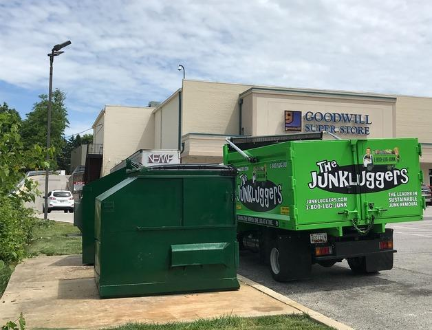 Commercial Junk Removal in Catonsville, MD - After Photo