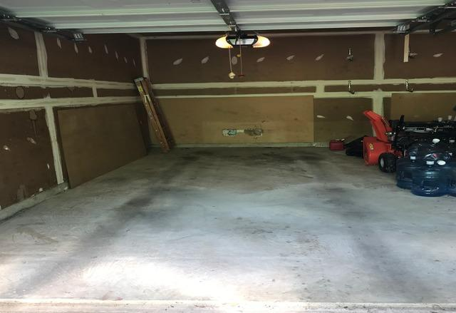 Garage clean out, Ellicott City MD - After Photo