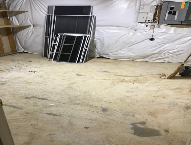 Basement clean out, Ellicott City MD.