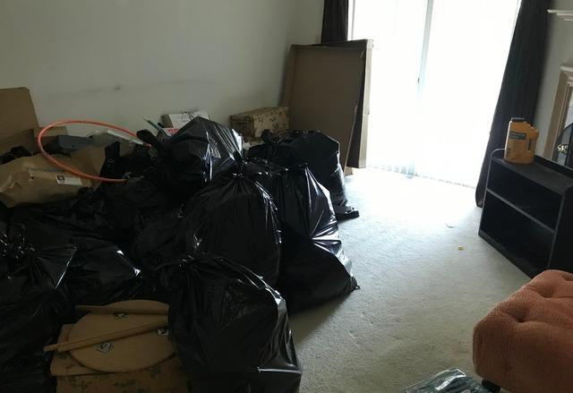 Senior move manager condo clean out, Towson MD.