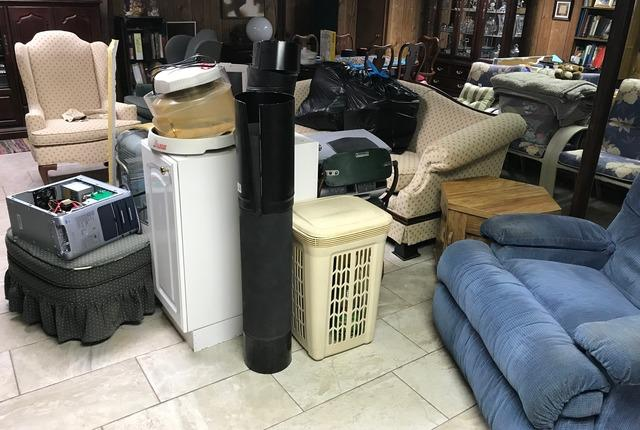 Basement clean out, Pasadena MD.