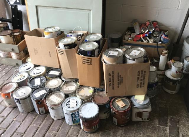 Paint removal and recycling, Catonsville MD.