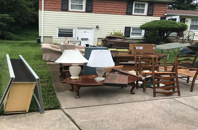 Old furniture removal/donation/recycling, Catonsville MD.