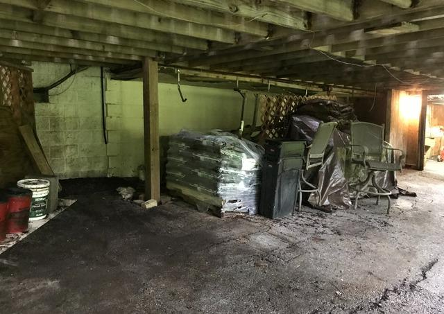 Storage clean-out, Catonsville MD.