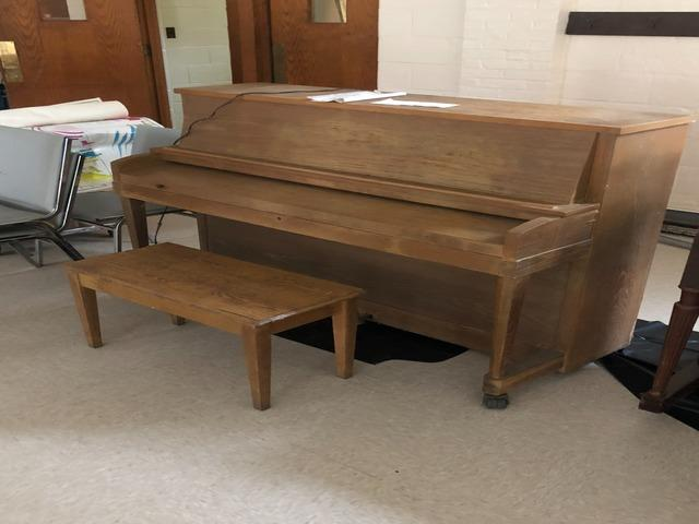 Piano Removal, Catonsville MD - Before Photo