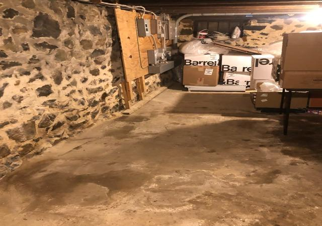 Basement junk cleanout, Catonsville MD.
