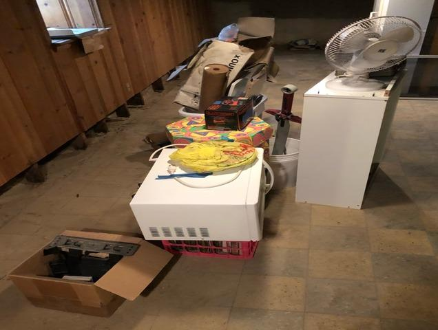 Junk removal, Clarksville MD. - Before Photo