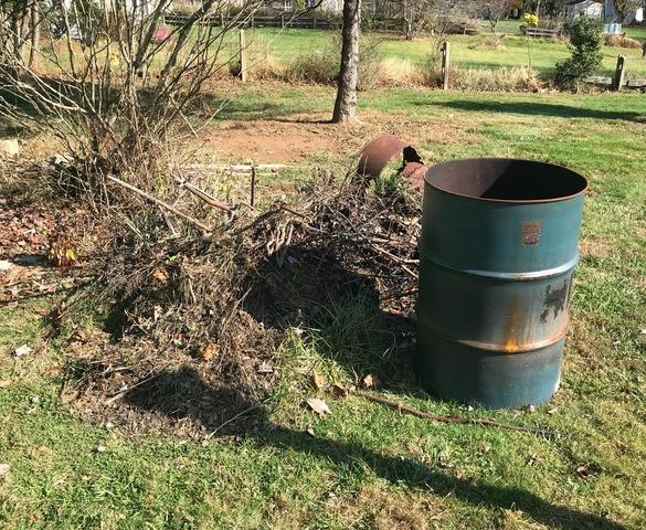 Yard clean up, Reisterstown MD