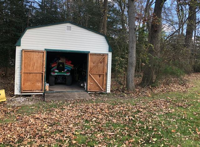 Shed clean out and junk removal, Curtis Bay MD