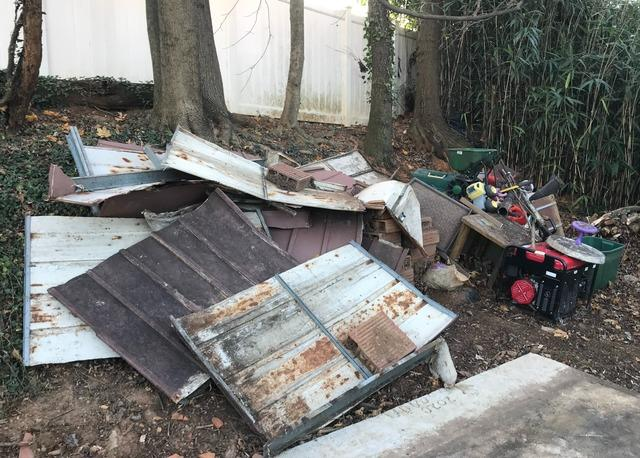 Shed and junk removal, Phoenix MD