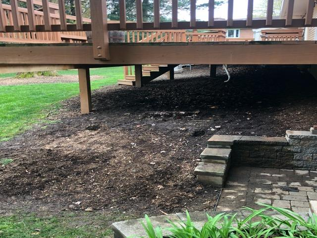 Deck removal and donation, Columbia MD