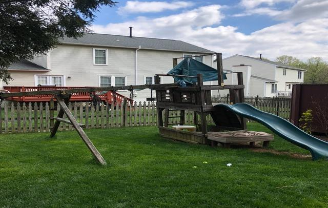 Swing-set demolition and removal, Columbia MD.