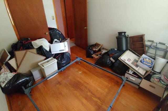 Junk Removal in Silver Spring, MD - Before Photo