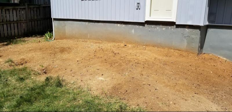Rock Removal in Lenexa, KS - After Photo