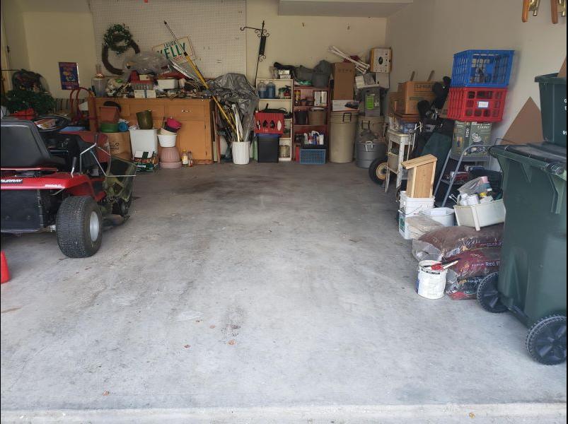 Garage Cleanout in Gardner, KS - After Photo